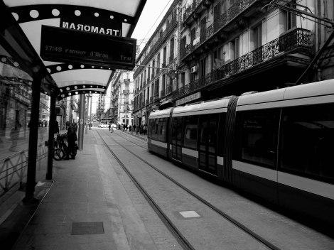 Tranvía de Orán recientemente puesto en funcionamiento. Realizado por empresas españolas.