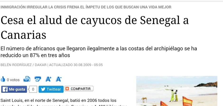Noticia publicada en Diario de Sevilla 30.08.2009